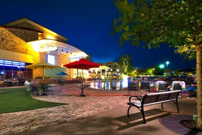 Night life in Fairview Texas