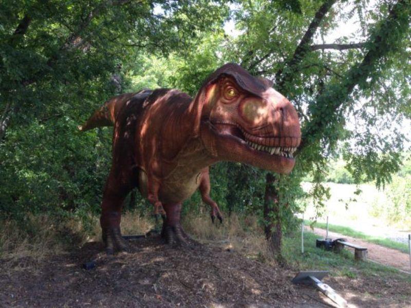 Dinosaur Park in Fairview Texas