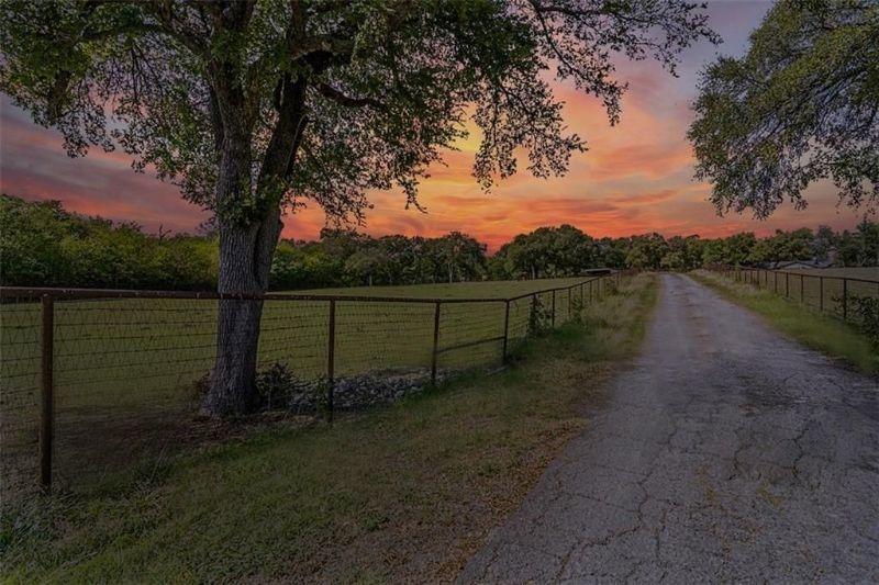 Sunset in Lucas Texas