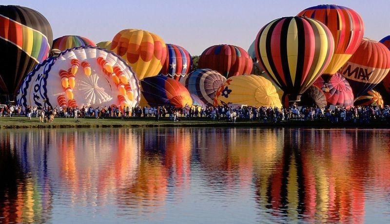 Hot Air Balloons Festival Plano Texas